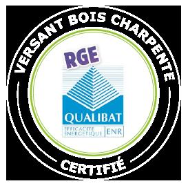 Versant bois Charpente certifié RGE