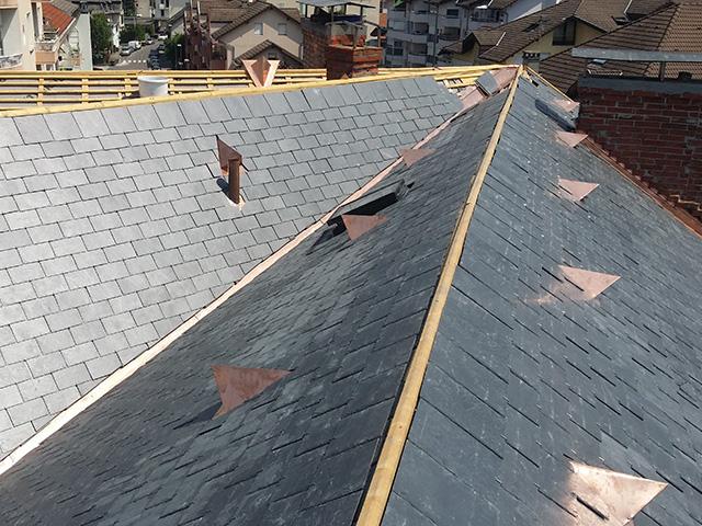 tuile aération de toiture