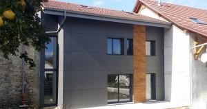 Construction d'un logement