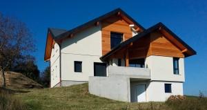 Logement ossature bois Haute-Savoie